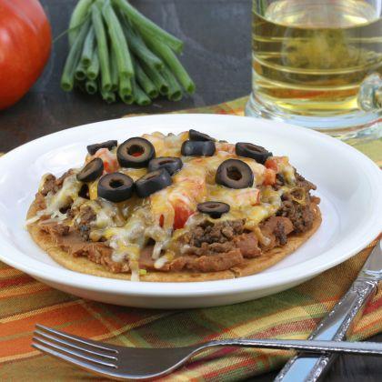 Quick Mexican Pizza Recipe