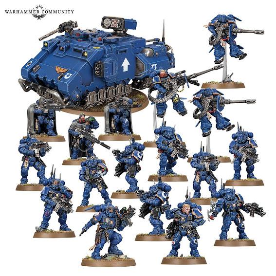 Combat Patrol Marines Vanguardia