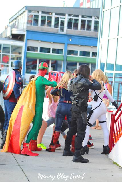 Marvel Studios Costumed Characters Sweet Suite New York