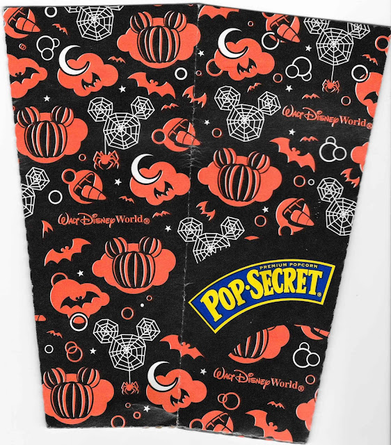 Halloween Popcorn Box Design Walt Disney World