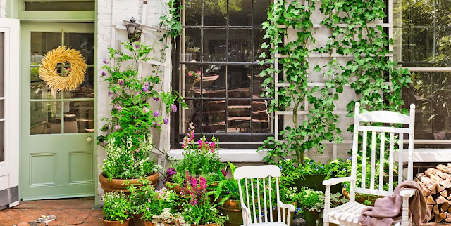 Creative Small Space Gardening