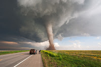 A powerful Tornado near Campo