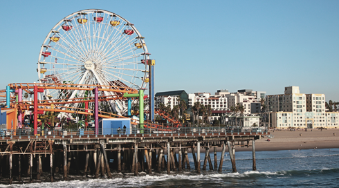 Santa Monica Pier Pictures