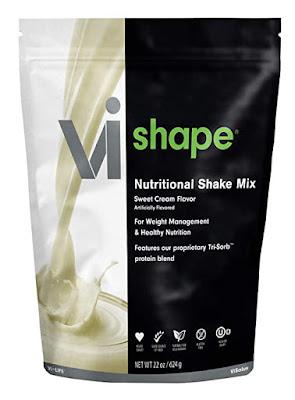 body by vi shape nutritional shake mix