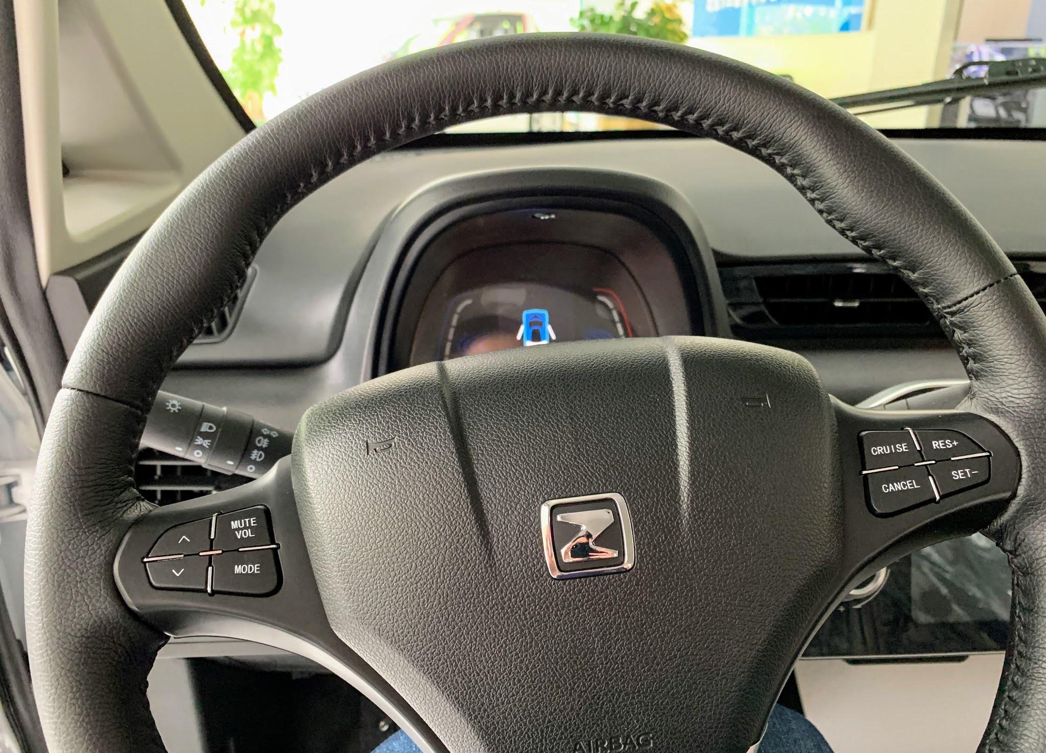 zotye e200 EV interior