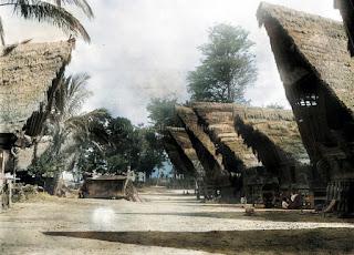 lingkungan masyarakat suku bangsa batak dahulu dan sarkofagus