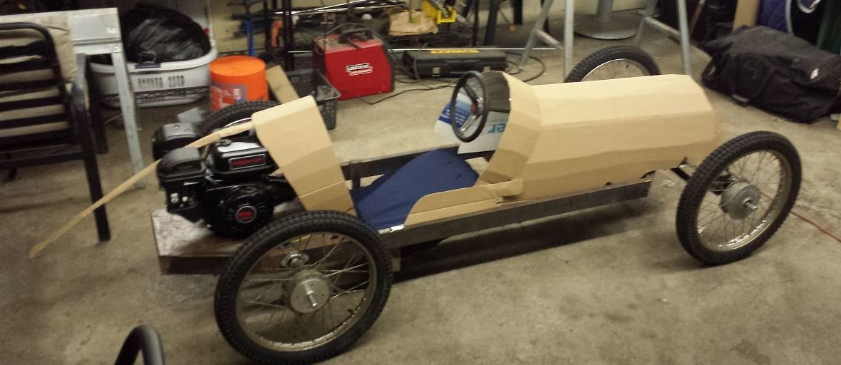 how to build a wooden go kart