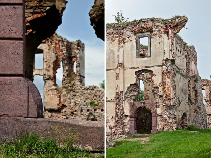 Bodzentyn, świętokrzyskie, góry, Świętokrzyski Park Narodowy, zamek, ruiny