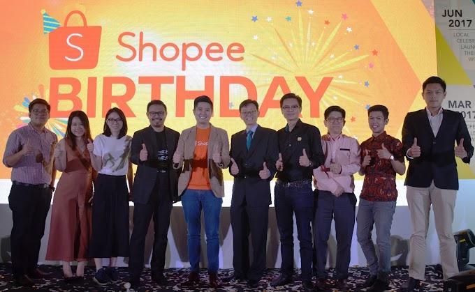Shocking Sale Shopee Malaysia Sempena Shopee 2nd Birthday 1 - 14 Disember 2017