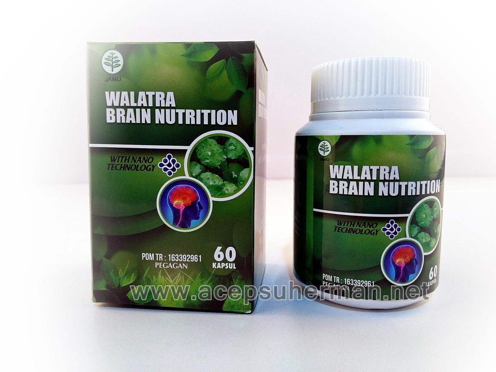 Suplemen Kesehatan Penambah Nutrisi Otak Alami