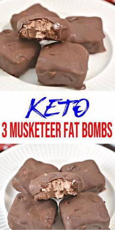 Best Keto 3 Musketeer Fat Bombs