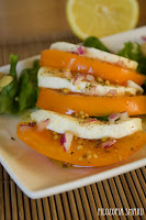 (Sałatka z żółtych pomidorów