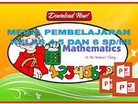 Media Pembelajaran berbasis power Point Matematika kelas 4,5 dan 6  SD/MI