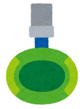 クレーンゲームのアームのイラスト(中央)