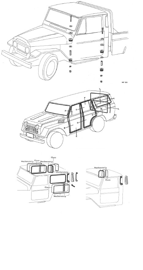 Manual Download: Toyota Land cruiser Chassis and body