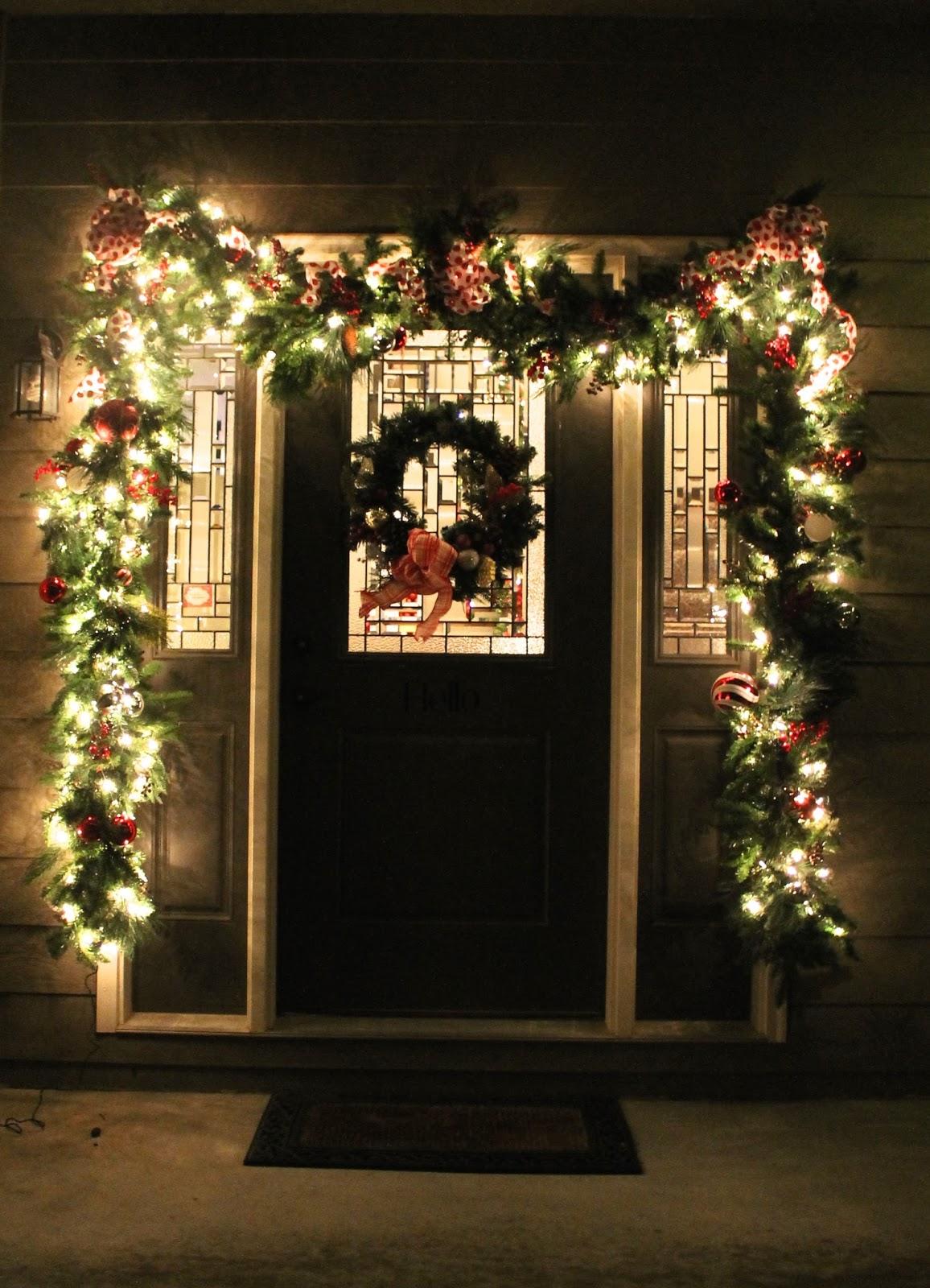 One Story House Christmas Lights.Christmas Home Tour 2016 Simple Purposeful Living