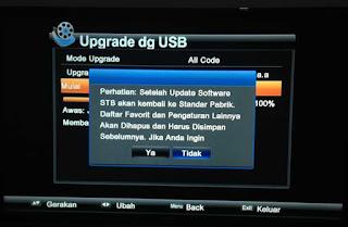 Peringatan Upgrade