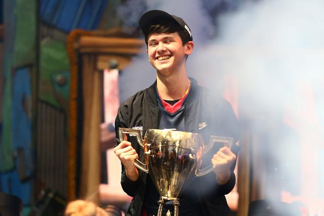 16-year-old Kyle 'Bugha' Giersdorf takes home $3 million prize for Fortnite World Cup win