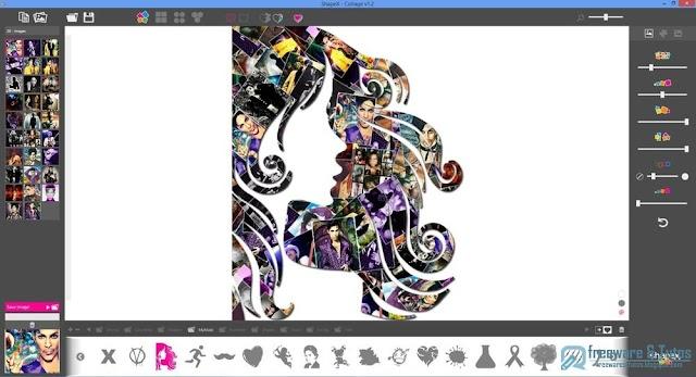ShapeX : créez de sublimes collages photos très facilement
