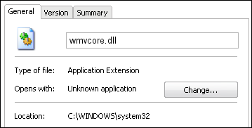 wmvcore.dll windows 8