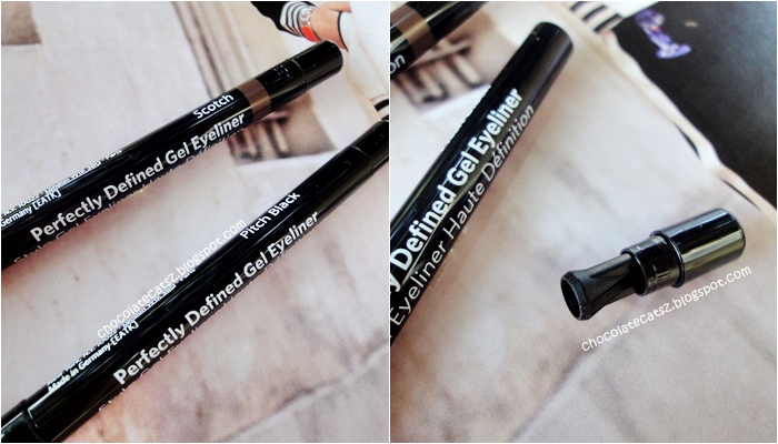 chocolate cats get defined eyes with bobbi brown perfectly defined gel eyeliner
