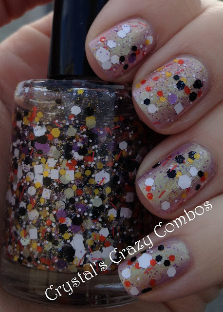 Crystal S Crazy Combos Enchanted Polish Finger Lickin Good