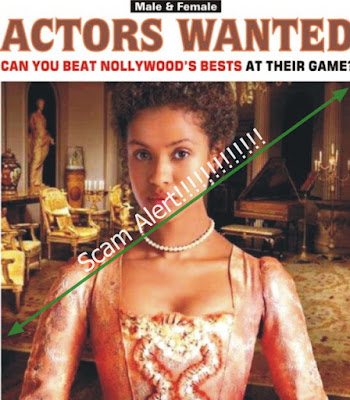nollywood acting audition scam