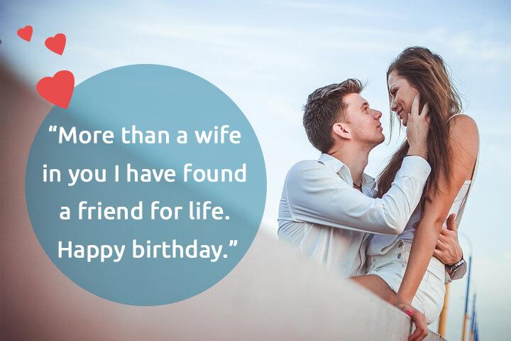 wife birthday status