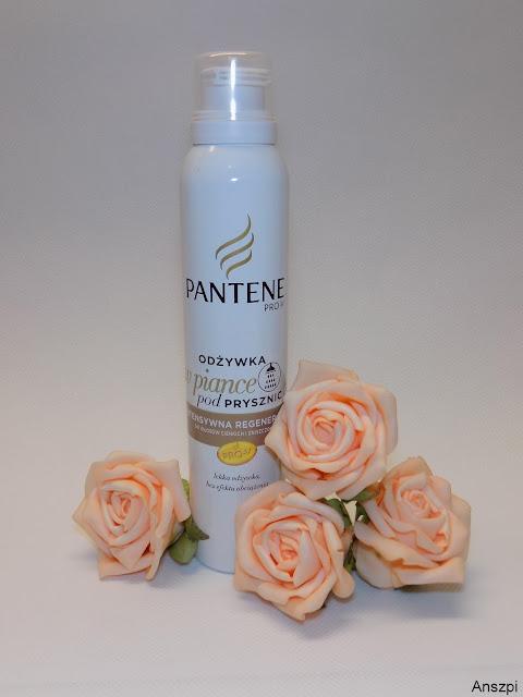 Odżywka w piance intensywna regeneracja do włosów cienkich i zniszczonych, Pantene