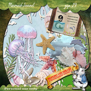Last week of Mermaid Journal freebie