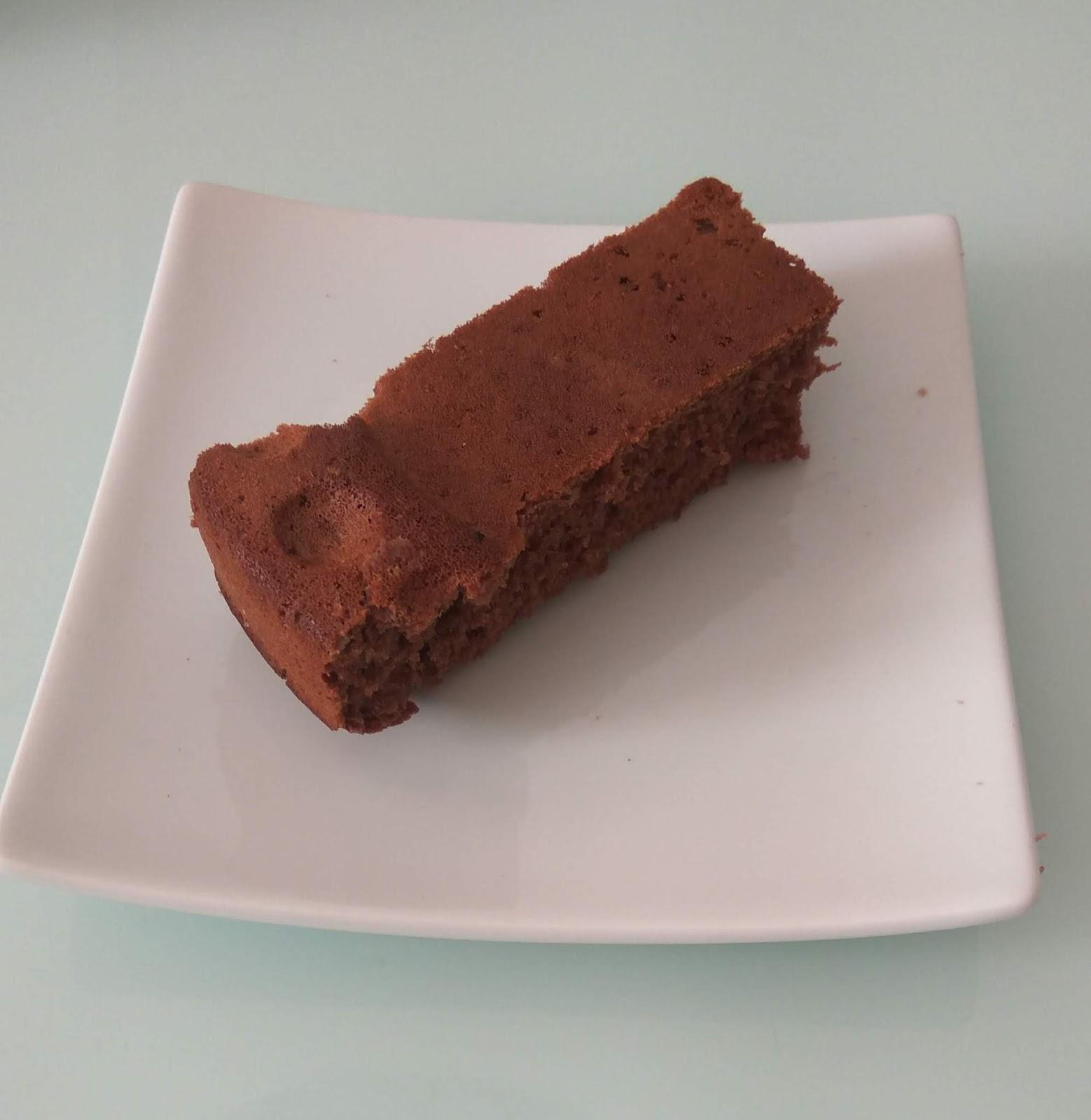 Bizcocho de chocolate Baby Led-weaning (BLW) - a partir de los 6 meses