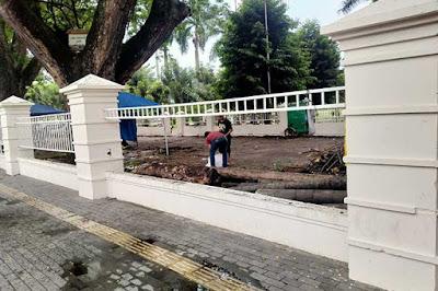 Pagar Lapangan Merdeka Medan
