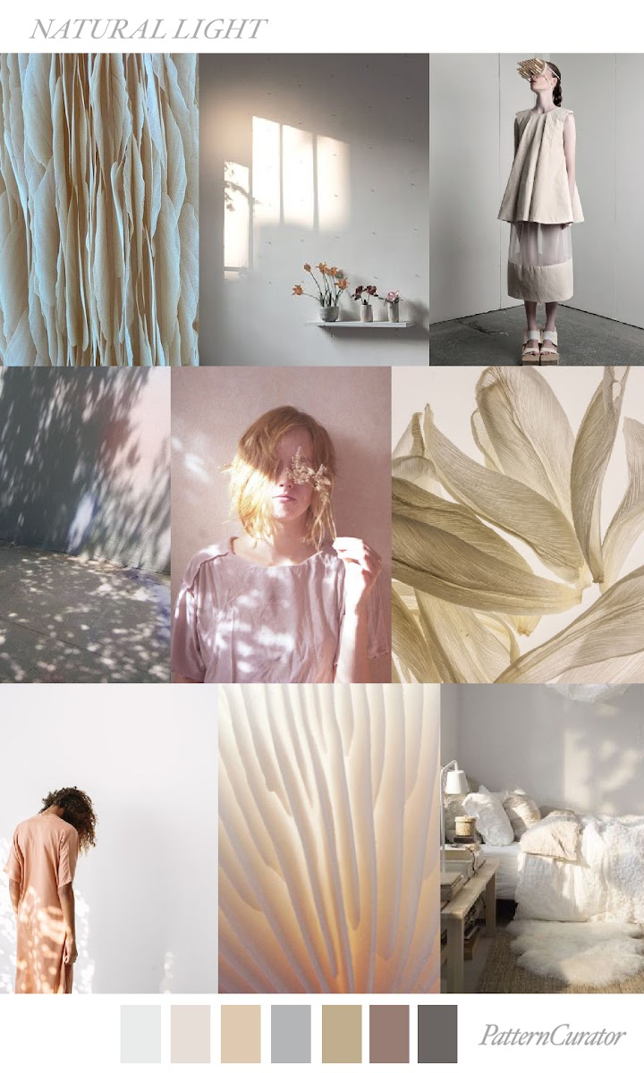 Trends pattern curator natural light ss 2018 for Natural light in homes