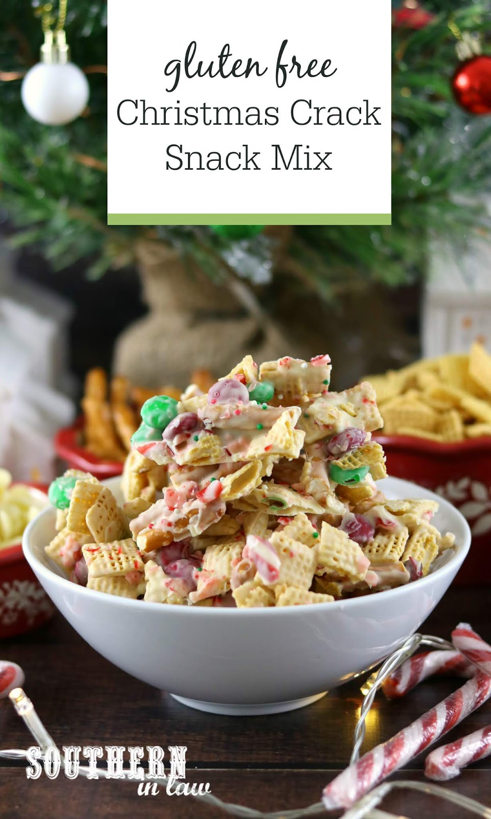 Southern In Law Recipe Christmas Crack Snack Mix