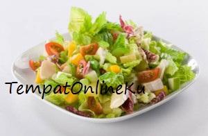 salad sayuran enak sehat praktis