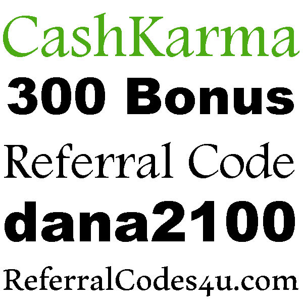CashKarma App Referral Code, Invite Code, Sign up Bonus and Reviews 2018-2019