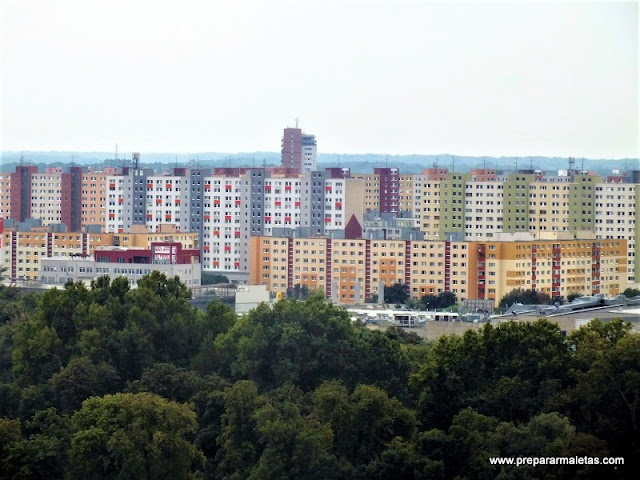 contraste arquitectura en Bratislava