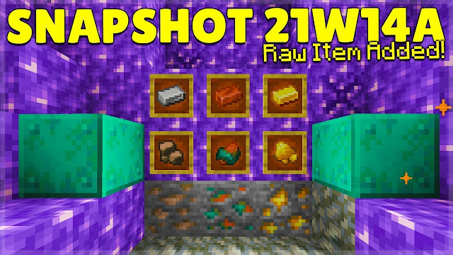 Minecraft: Java Edition - Snapshot 21w14a