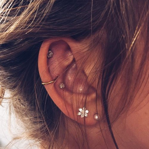72 Ear Piercing For Women Cute And Beautiful Ideas The Finest Feed