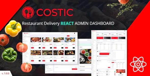 Best Restaurant Dashboard Template