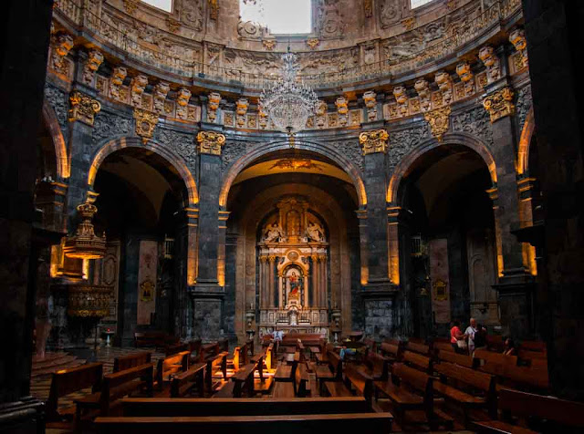 Interior Santuario de Loyola