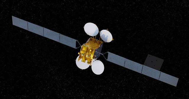 Artist's rendering of the MEASAT-3d satellite. Credit: Airbus