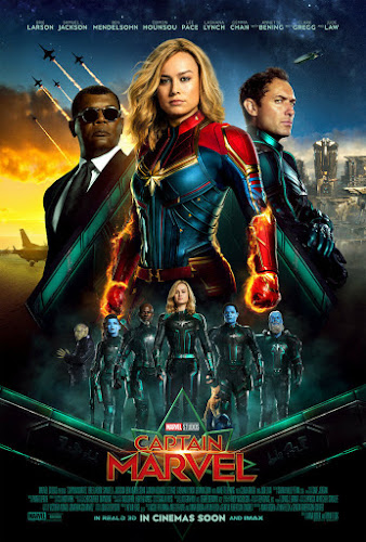 Captain Marvel (Web-DL 720p Dual Latino / Ingles) (2019)
