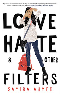 Love Hate & Other Filters, Samira Ahmed, InToriLex, Book Scoop