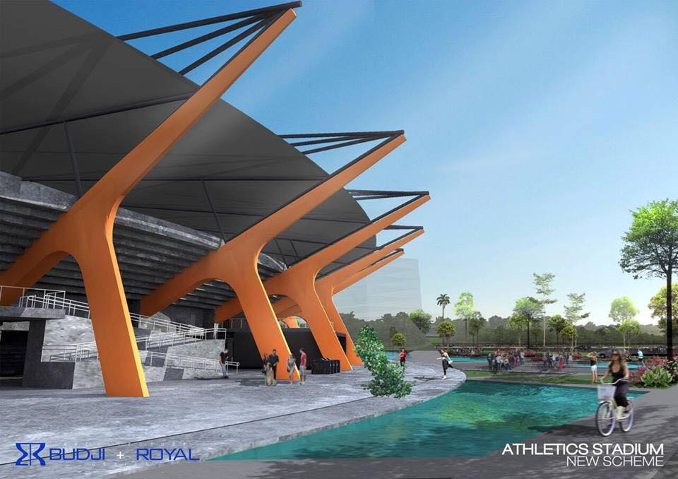 New Clark City Sport Hub- Home of 30th SEA Games
