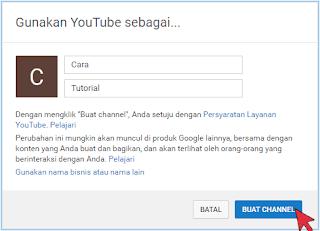 Cara Membuat AKUN MERK Youtube