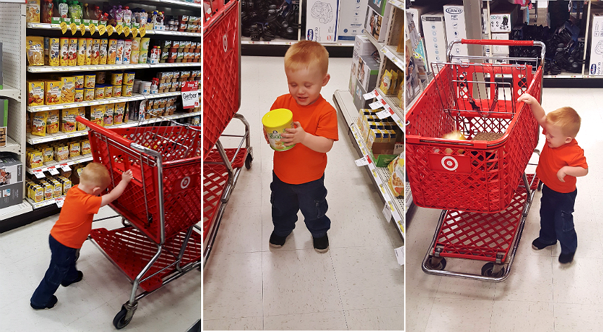 Help your child explore and discover with Gerber LilBeanies Navy Bean puff snacks, now sold at Target! AD #GerberWinWin
