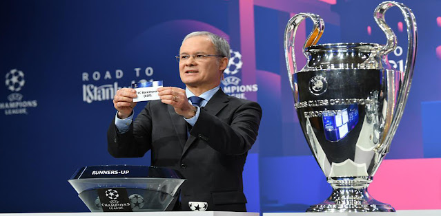 The Champions League last 16 draw is set