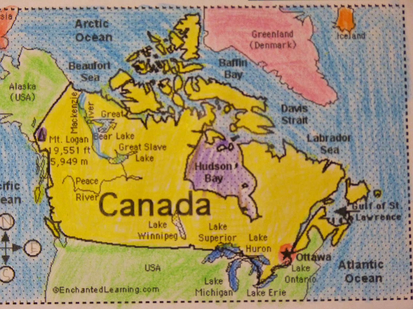 Canada Geography Project