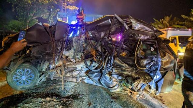 Merinding! Detik-detik Kecelakaan Maut di Pati yang Tewaskan 4 Orang